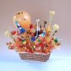 Букеты из конфет № 03